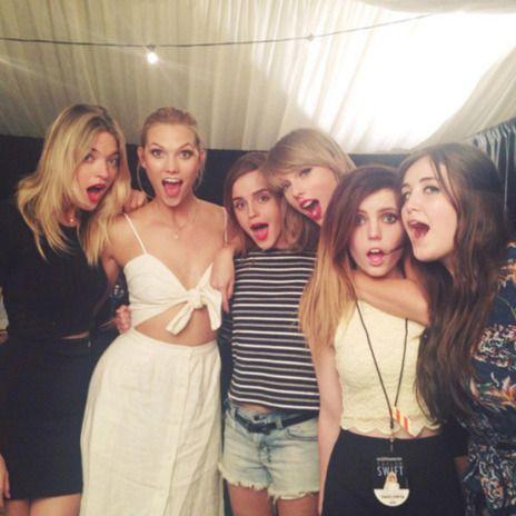 La Fiesta Post-Concierto de Taylor Swift con Emma Watson, Karlie Kloss... | Happy FM | EL MUNDO
