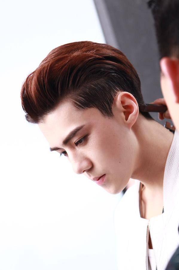 SEHUN EXO MCM photoshoot