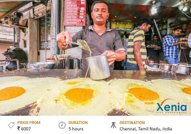 The Street Food Of Chennai A Half Day Tour Xenia Cities Price From Rs 6007 Duration 5 Hours Destinati India Street Indian Street Food Street Food