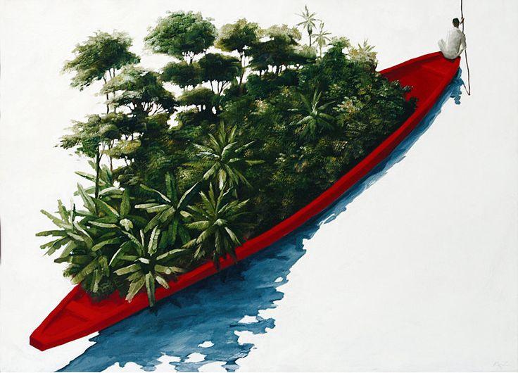 Pedro Ruiz. Artista plástico colombiano nacido en Bogotá.