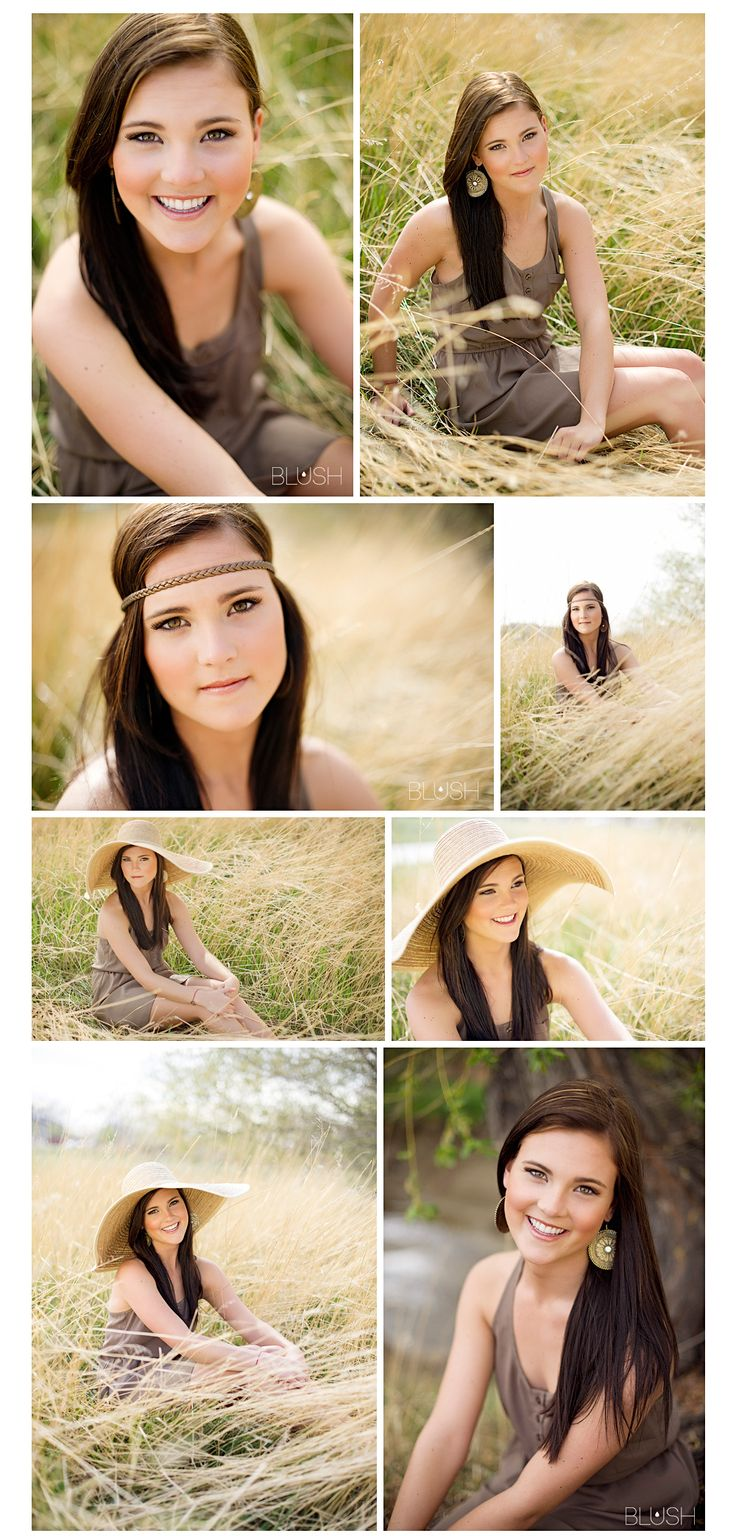 Senior girl #seniorphotography blushbytina.com