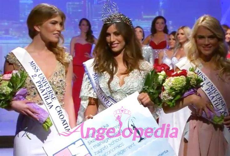 Barbara Ljiljak crowned Miss Universe Croatia 2015