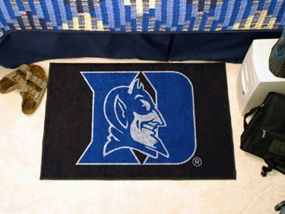"Duke Starter Rug 20""x30"" by Fanmats. $13.68. Duke Starter Rug 20""x30""Decorate your home or office with area rugs by FANMATS. Made in U.S.A. 100% nylon carpet and non-skid recycled vinyl backing. Officially licensed and chromojet printed in true team colors. Please note: These products are custom made. The normal lead time is about 7-10 business days. However, the putting mats and carpet tiles do take a little longer, about 14-21 business days.***This item is expected to deliver ..."