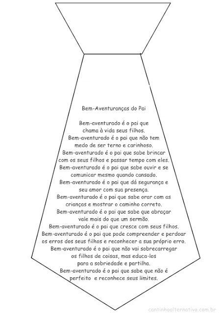 Poema Para o Dia dos Pais: Bem-Aventuranças do Pai - Blog Cantinho Alternativo