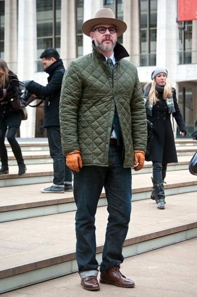Barbour Olive Liddesdale Quilted jacket