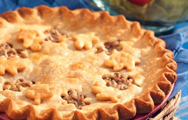 Traditional Tourtiere - French Canadian Meat Pie