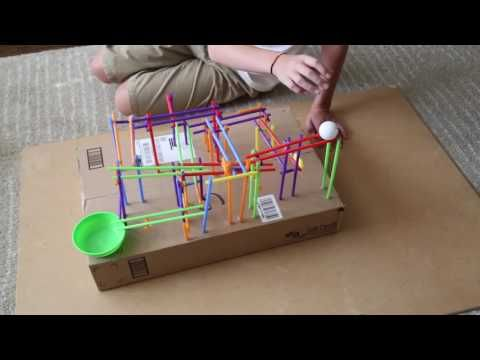 Engineering Project for Kids: Build a Straw Roller Coaster! - Frugal Fun For Boys