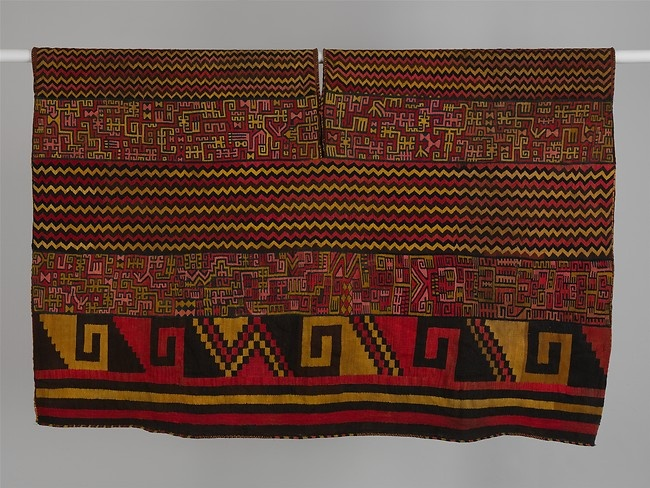 Banded Tunic with Proliferous Patterns, ca. 580–680