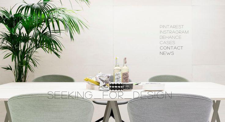 Homepage visual design #seeking_for_desing