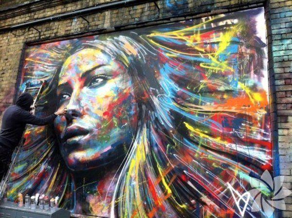 Binaları ve Duvarları Baştan Yaratan 25 İnanılmaz Sokak Sanatı Örneği - http://www.aylakkarga.com/binalari-duvarlari-bastan-yaratan-25-inanilmaz-sokak-sanati-ornegi/