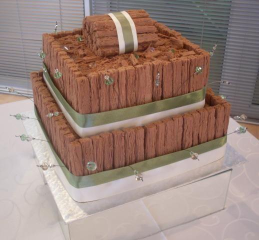 Chocolate cake, Flakes, Cake with beads