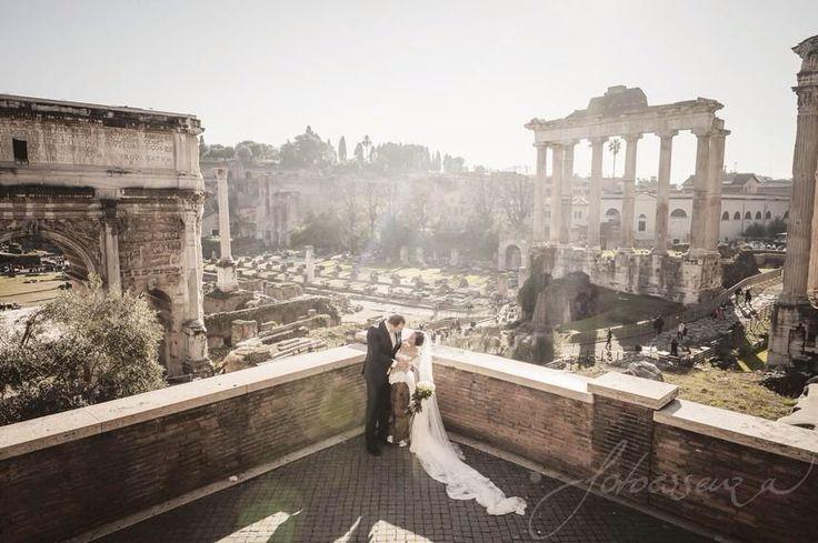 A dream wedding in Rome