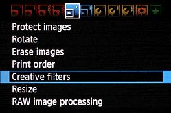 Canon Rebel T3i Tips: Using Creative Filters - I guess I'll be needing this now!!!!!!! Woo hoo!!!
