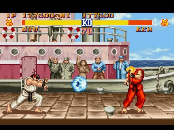Street Fighter- my brother was a bigger fan of this game than me. I was just an accessory.