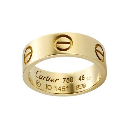 Yes pleaseeeeeee!!! Cartier Love Ring (yellow gold). [$1,553 USD]-- -the love band NOTTTT the marriage band (obviously)