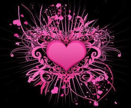 latest cool pink heart - photo #7