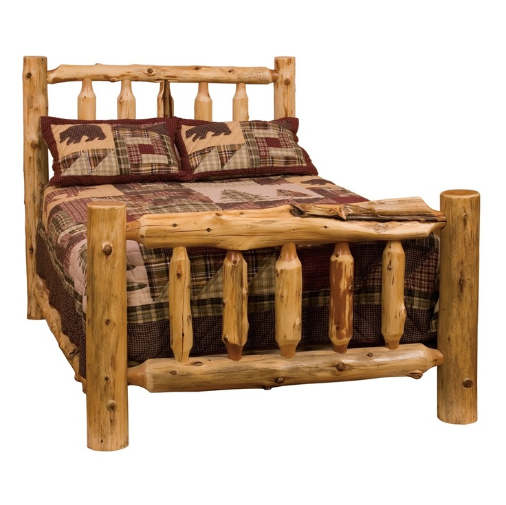 fireside lodge cedar king traditional log bed complete price 102900 current special