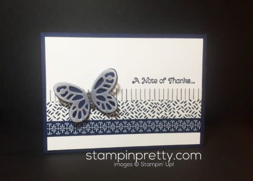 stampin up, Floral boutique washi tape, quick and easy card details- Mary Fish, stampinup