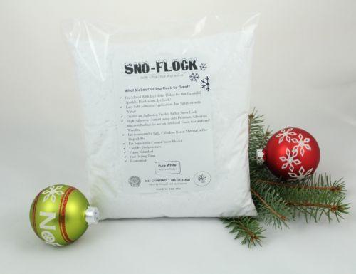 Bonding-Snow-Flock-Professional-Grade-Sno-Flock-Powder-with-Ice-Flakes