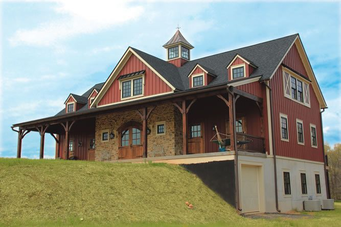 17 best images about log homes and timber frame homes on for Log pole barn
