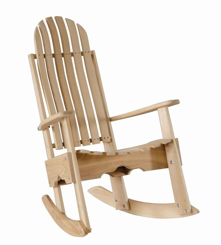 Cypress Rocking Chair / Rocker Contoured Seat And Back Assembled With  Stainless Steel Hardware Handmade In The USA With Rot Resistant Eternal  Cypress Wood ... Amazing Design