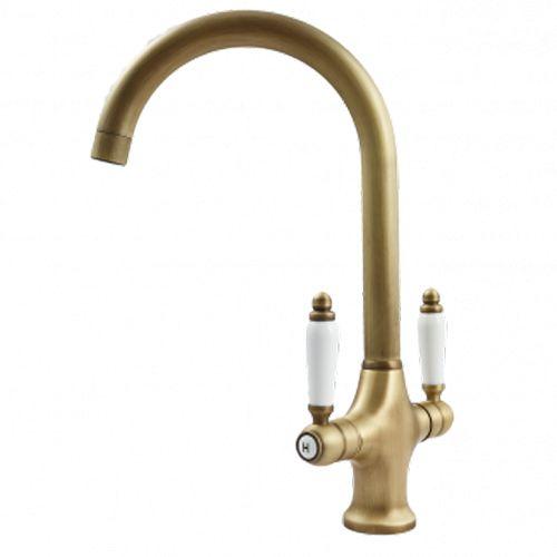Mizzo Parilo kitchen tap bronze