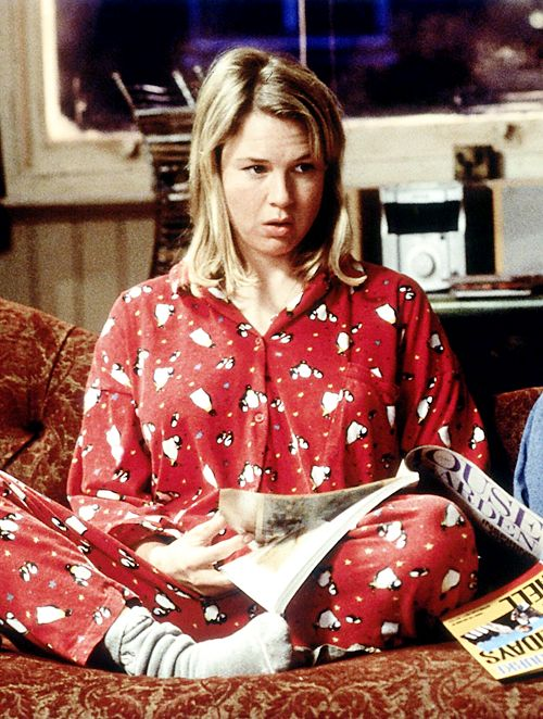 Renee Zellweger in Bridget Jones's Diary,2001.
