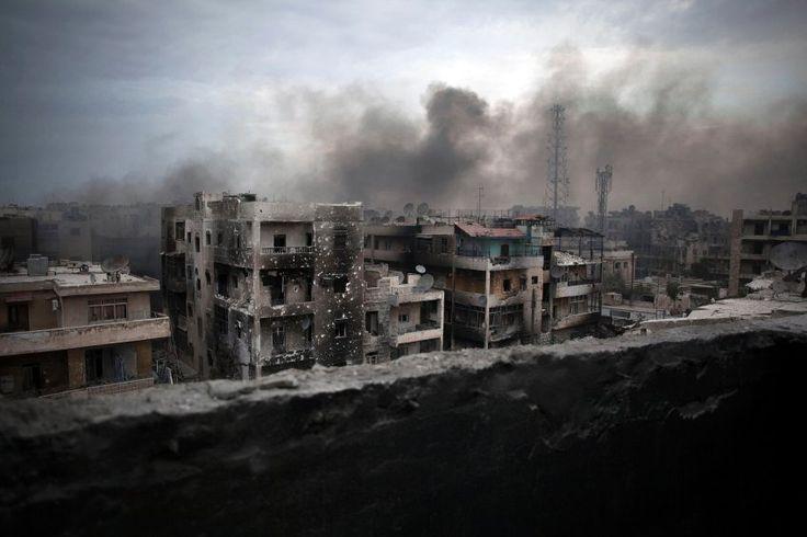 """Außenminister Steinmeier: """"Die Bilder aus Aleppo sind an Grausamkeit kaum zu überbieten"""" - SPIEGEL ONLINE - Politik"""