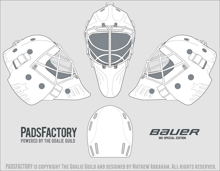 Hockey Masks Coloring Pages