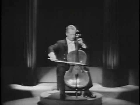 "Pierre Fournier plays ""Suite for Solo Cello No. 3 in C Major"