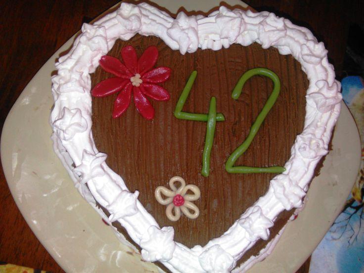 Saját szülinapi tortám