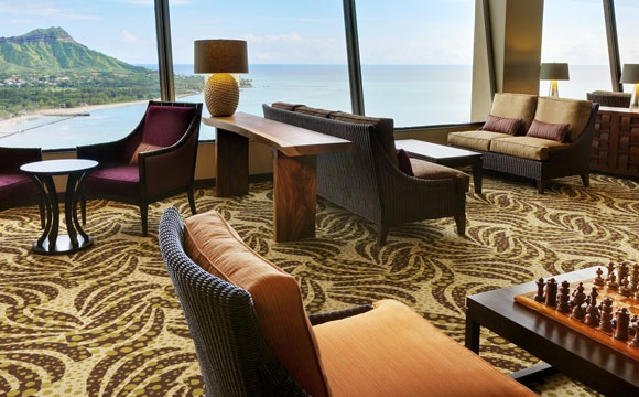 Club Lounge Sheraton Waikiki