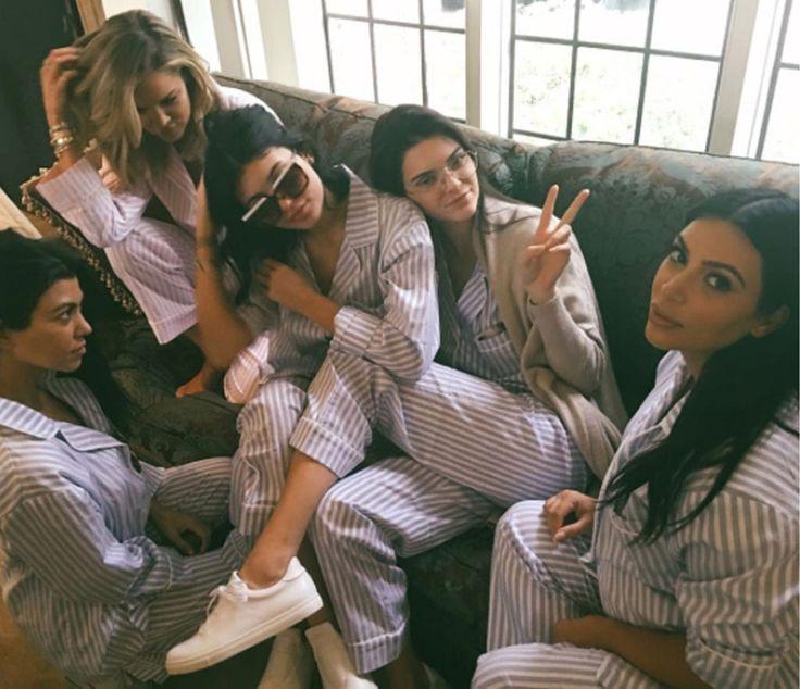 The Kardashian clan celebrate Kim's baby no. 2!