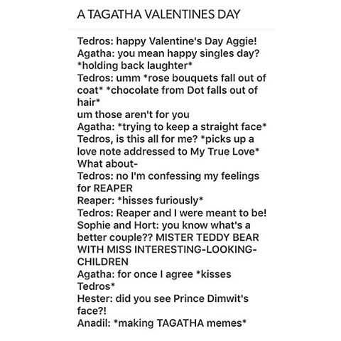 Image Result For Tagatha Headcanons Yes School For