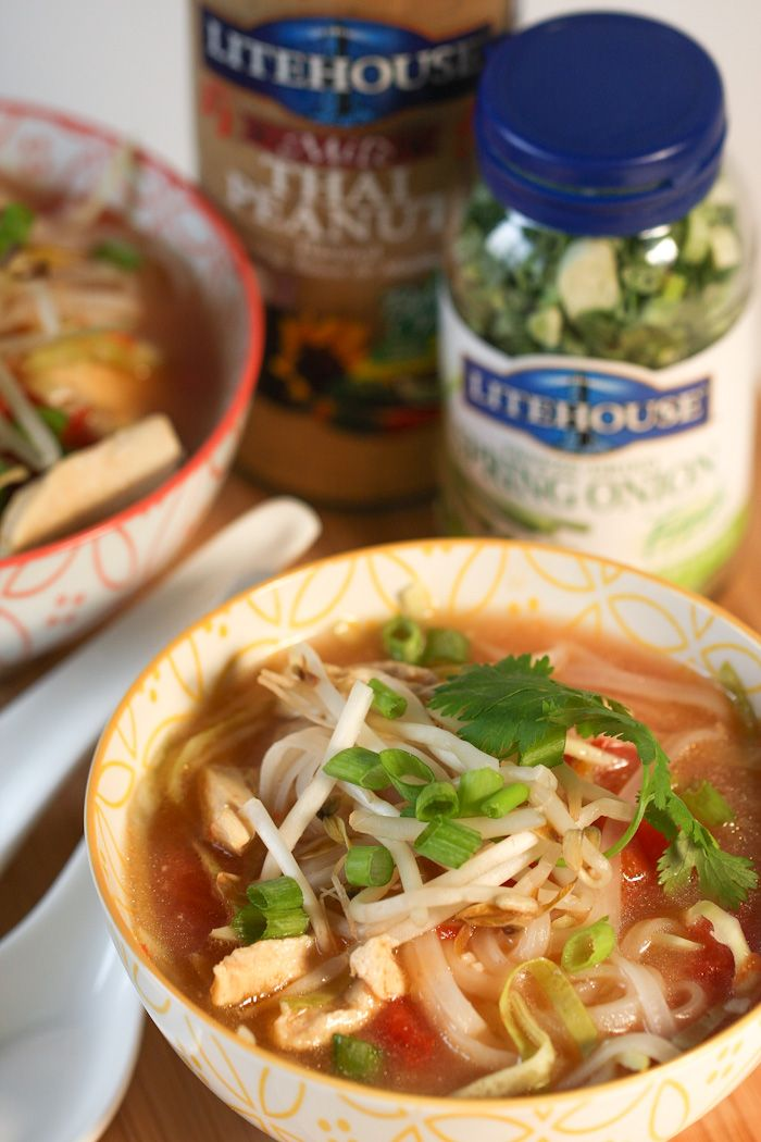 Thai Chicken Noodle Soup: Thai Chicken Noodle Soup, Thai Soup, Chicken ...