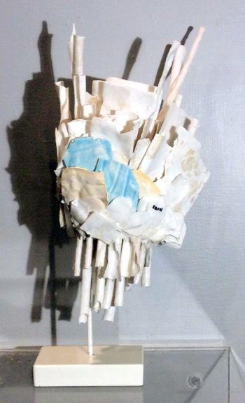 BURST porcelain EDNA DICKINSON