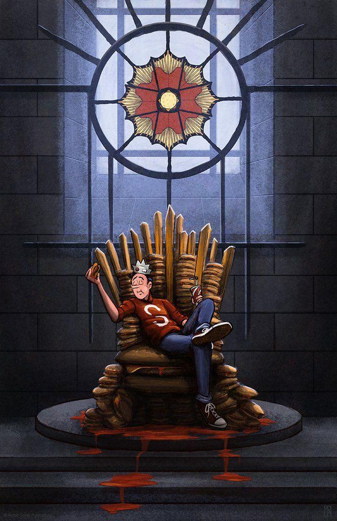"Matthew Rabalais ""Hail to the Burger King"" Print"