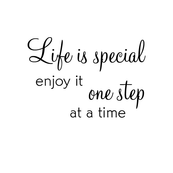 Wallstickers - Veggord - Life is special 01