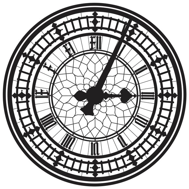 This is the Big Ben clock face, in London.
