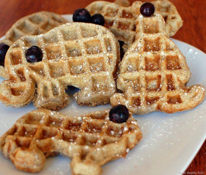 Adorable & healthy breakfast idea for the kids - Buckwheat multi-grain waffles via @babycenter #pickyeaters: Breakfast Kids, Breakfast Ideas, Multi Grains, For Kids, Kids Meals, Healthy Kids Recipes, Healthy Ideas, Healthy Breakfast Recipes, Buckwheat Multi