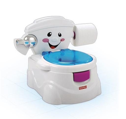 Fisher Price minikler için eğlenceli bir tuvalet! Hem öğretici, hem geliştirici, hem de çok fonksiyonlu olan bu ürünle tuvalet eğitimi hiç sorun değil... Kidycity.com'da 99 TL!