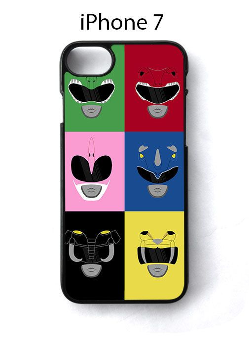 Mighty Morphin Power Rangers iPhone 7 Case Cover - Cases, Covers & Skins