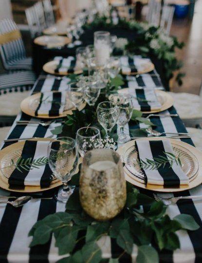 Table napkins, Navy napkins, stripped napkins, wedding, nautical, wedding decor, beach wedding, baby shower, black and white striped napkins