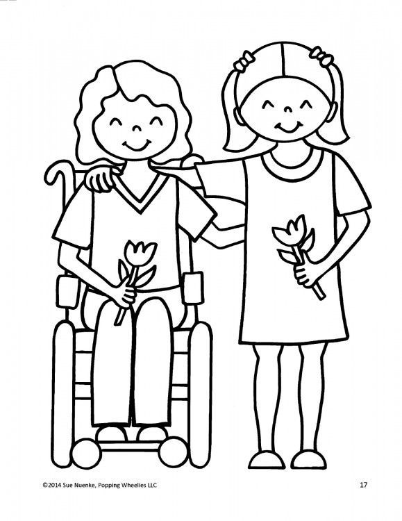 This Mom Created Coloring Books That Feature Kids With Disabilities: