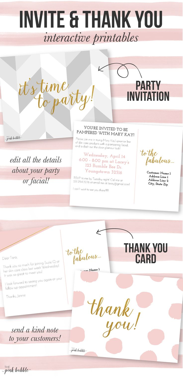 308 best images about Mary Kay party – Mary Kay Party Invitation