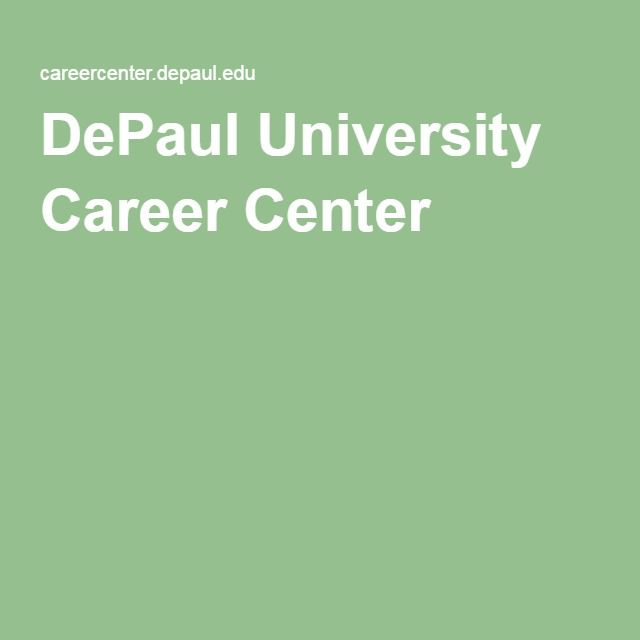 Guide to writing a federal government resume from DePaul - government resume