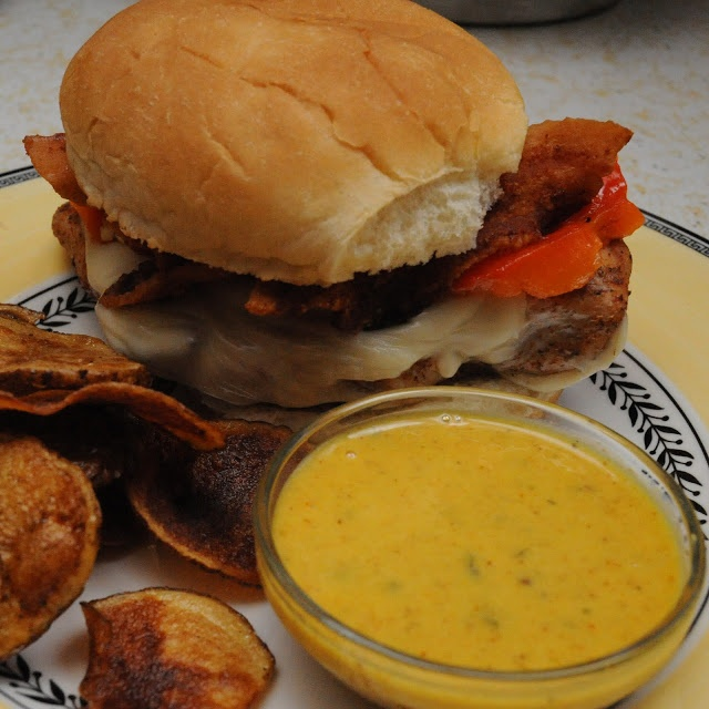 Not Just Sunday Dinner: Grilled Chicken Sandwich with Safari Sauce