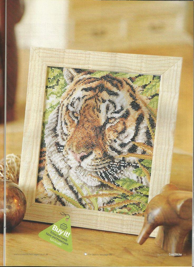 Jungle stripes - Jayne Netley Mayhew