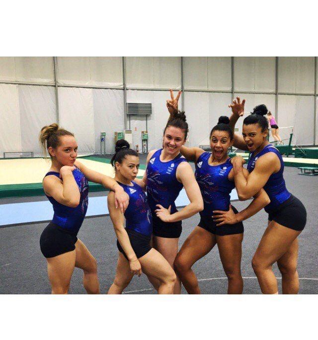 #SassSquad #TeamGB #Gymnastics #Rio2016 #Olympics