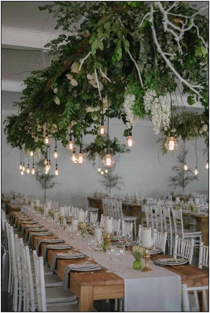 129 trendy rustic fall greenery wedding ideas 65   Hometwit.com